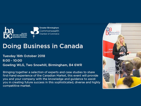 BABC Seminar on Doing Business in Canada