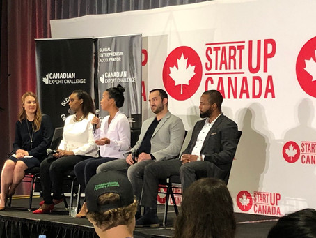Red Dot CEO speaks at the Canadian Export Challenge