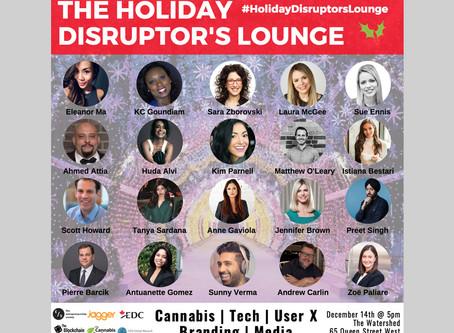 Entrepreneurship Society Disruptor's Lounge: Emerging Tech