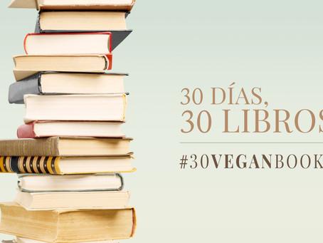 Especial libros veganos: 30 días, 30 libros