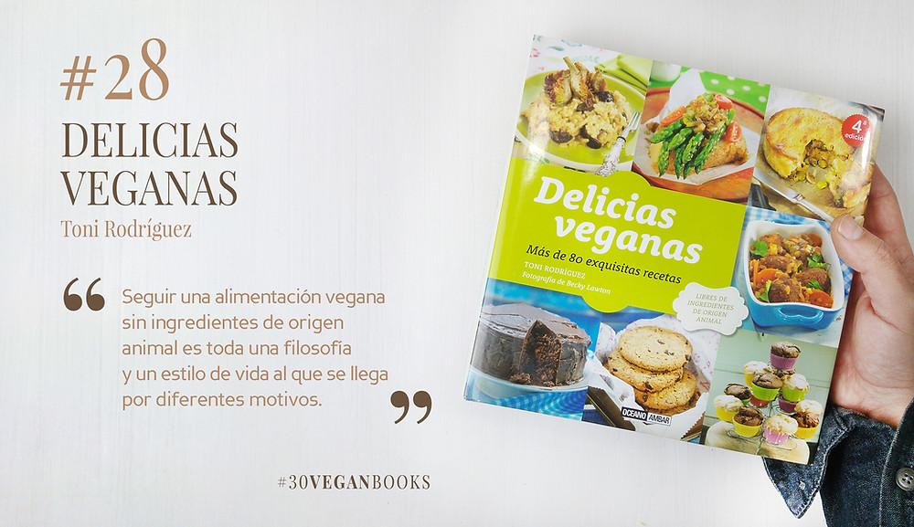 Libro Delicias veganas