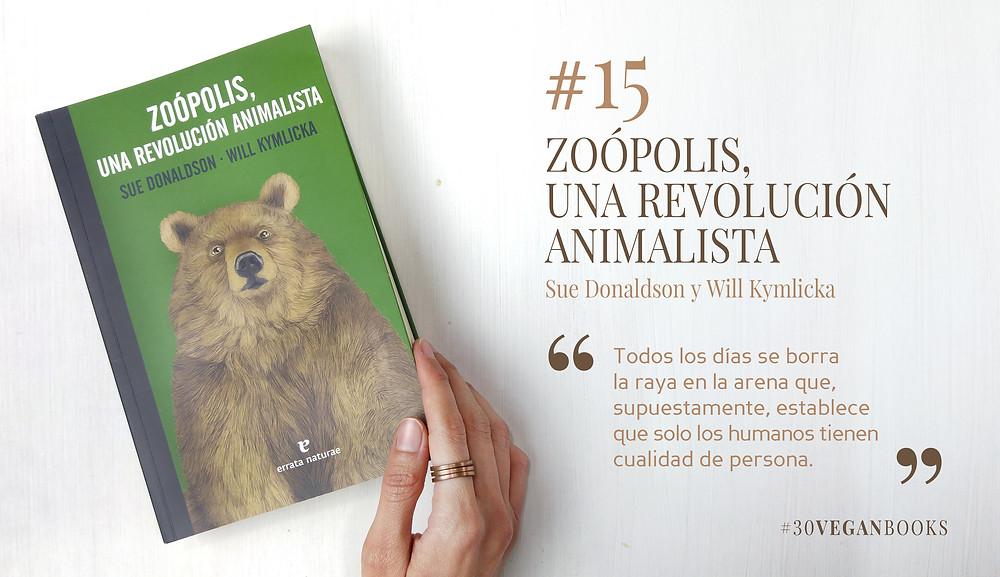 Libro Zoópolis, una revolución animalista