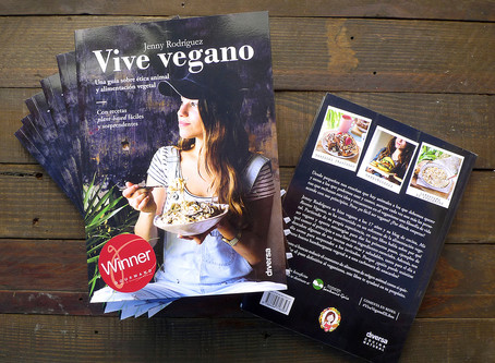 «Vive vegano», ganador del premio Gourmand World Cookbook