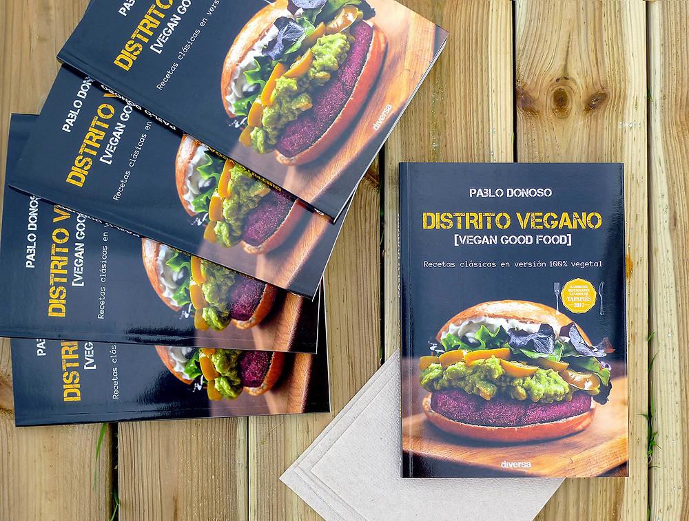 """Libro """"Distrito vegano"""""""