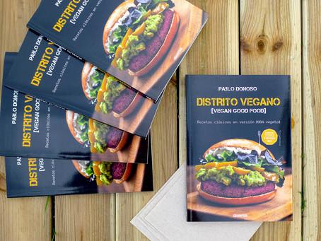 «Distrito vegano», el primer libro del restaurante ganador del concurso Tapapiés 2017