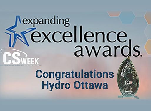 Congratulations Hydro Ottawa!