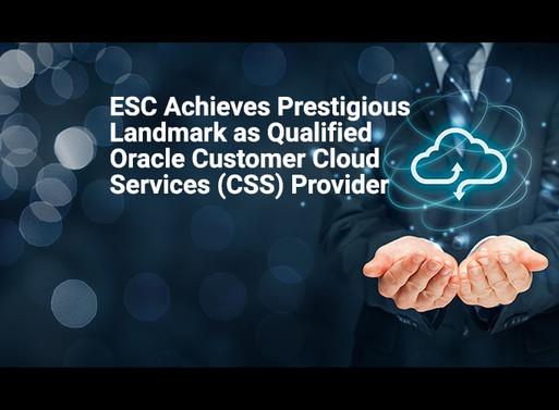 ESC Qualifies as CCS Provider