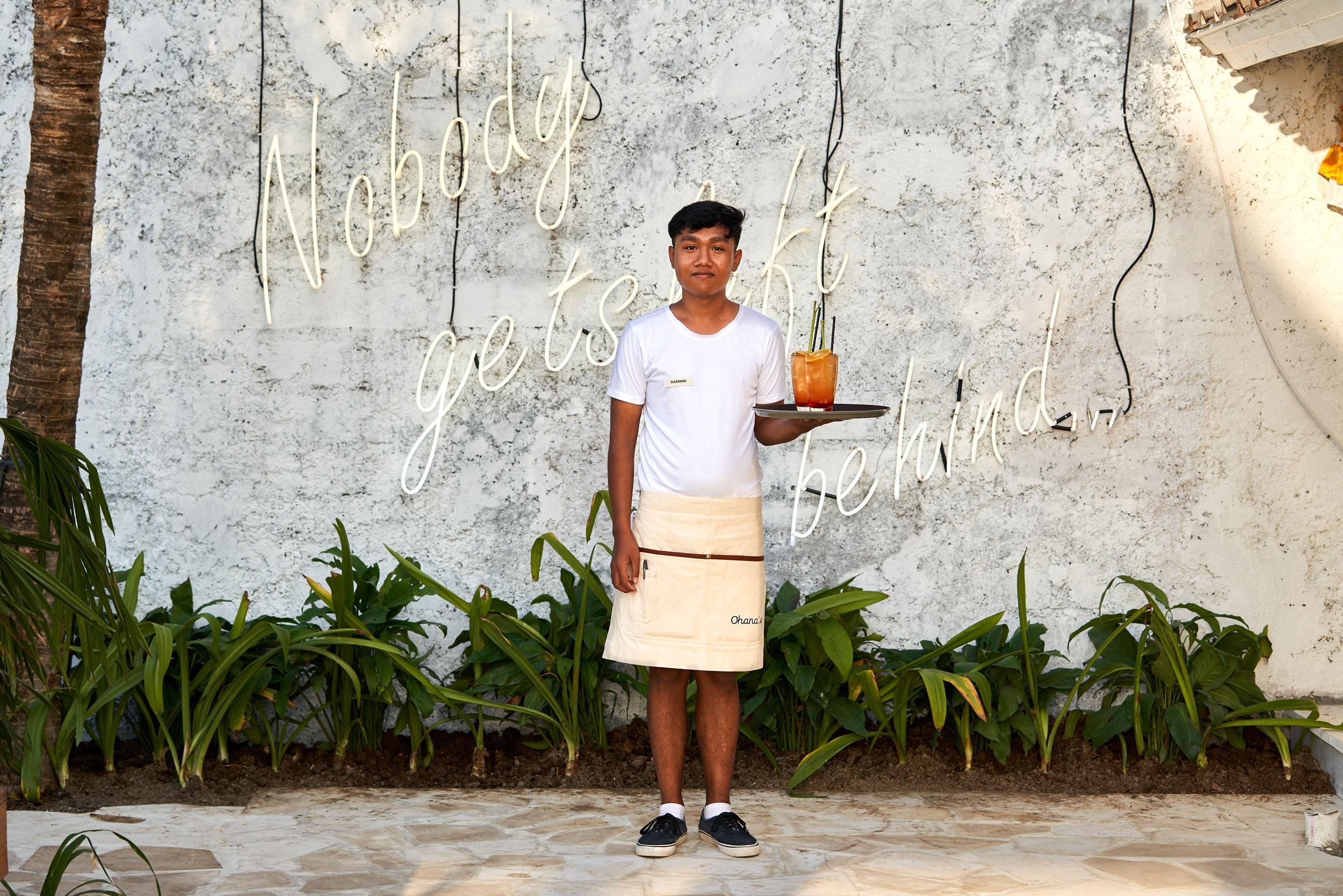 Ohana's restaurant Nusa Lembongan