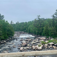 Hwy 17 on rute to Thunder Bay, road sites.