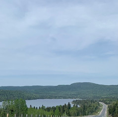 Hwy 17 on route to Thunder Bay