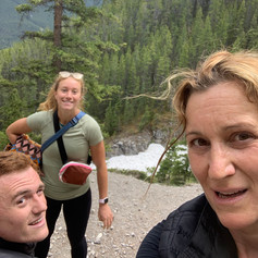 So we climbed Sulpher Mountain Banff.