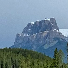 views on route to Lake Louise