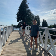 Walking the St. Mary's river walk