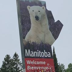 Finally reached Manitoba!