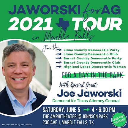 Jaworski Tour - Marble Falls Event - IGP