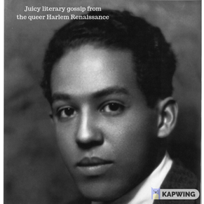 Langston Hughes spurns Countee Cullen