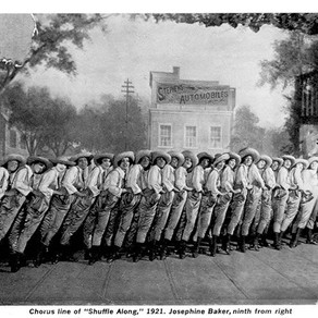 Shuffle Along - precursor to the Harlem Renaissance