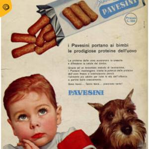 vintag vintage pubblicità Pavesini pavesi