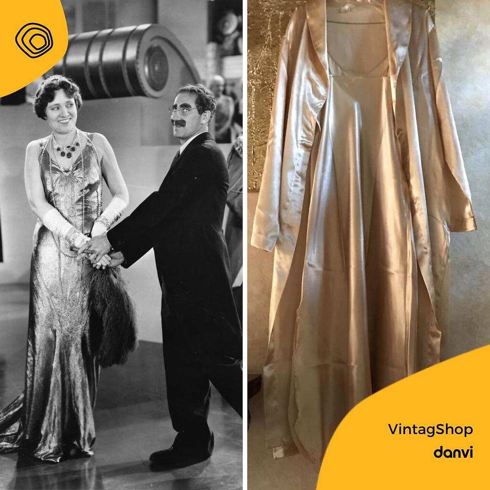 vintag vintage vestaglia da camera 1970