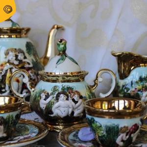 vintag vintage porcellana capodimonte anni 20