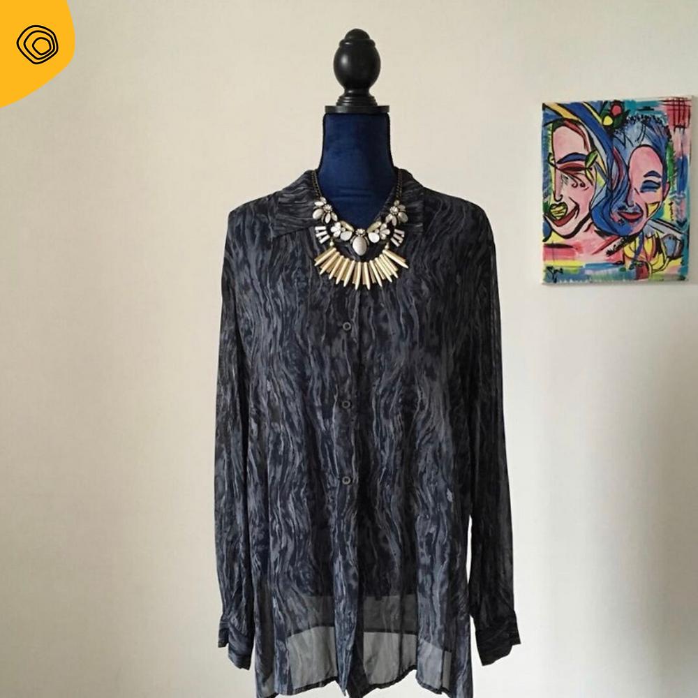vintag vintage Krizia camicia anni 90