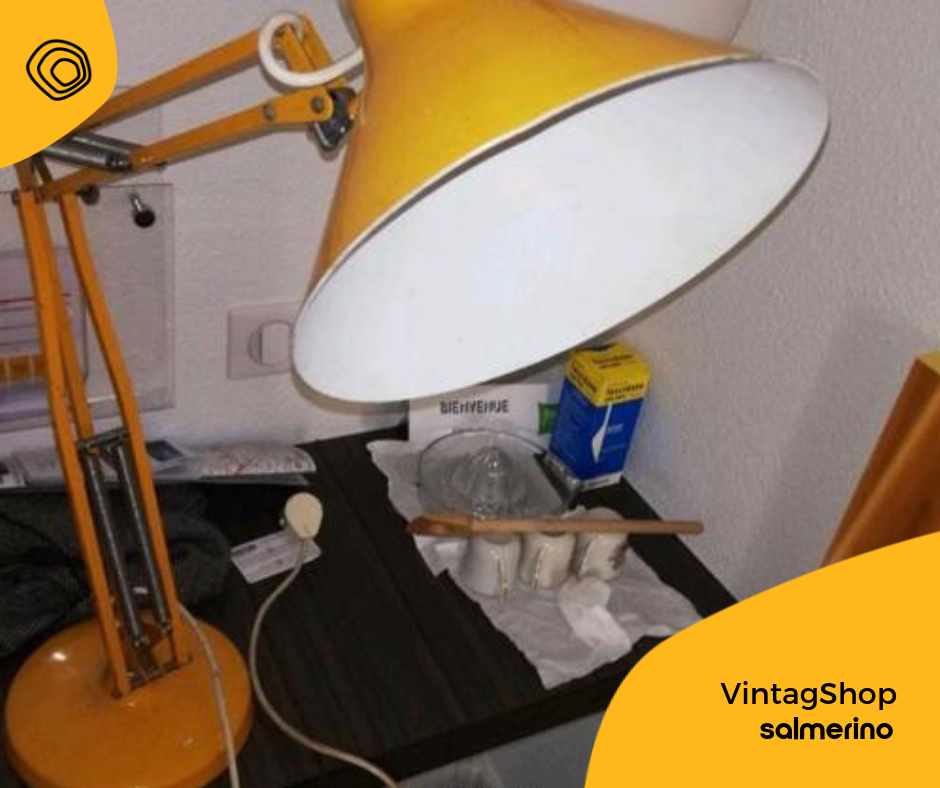 vintag vintage lampada naska loris luxo