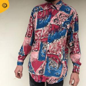 vintage vintag camicia uomo anni 90
