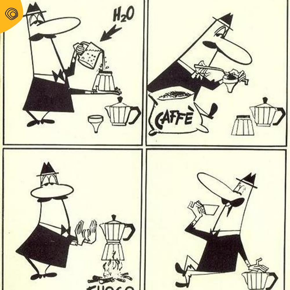 vintag vintage pubblicità bialetti paul campani