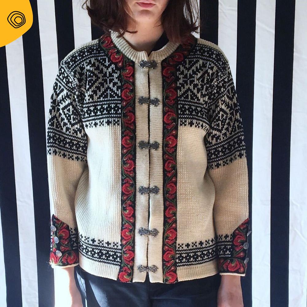 vintag maglione norvegese vintage