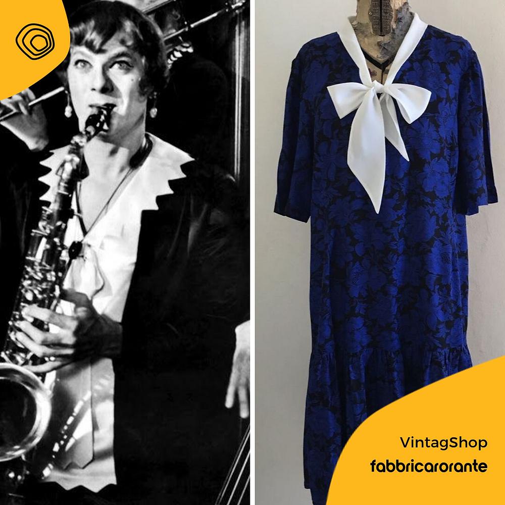 vintag vintage abito anni 70