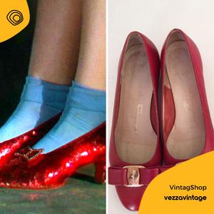 vintag vintage scarpe ferragamo anni 80