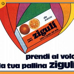 vintag vintage pubblicità ziguli anni 60