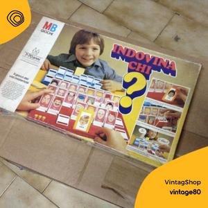vintag vintage anni 80 gioco da tavola indovina chi