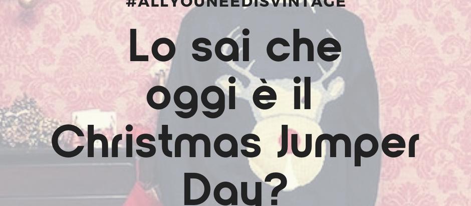 Lo sai che oggi è il Christmas Jumper Day?