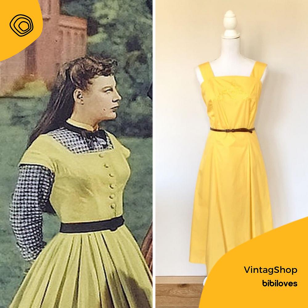 vintag vintage abito zegni confezioni
