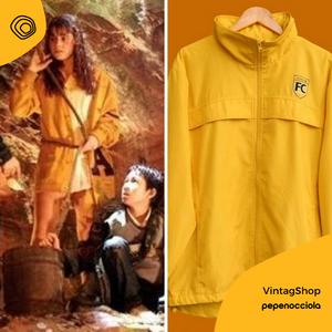 vintag vintage giacca gialla anni 90