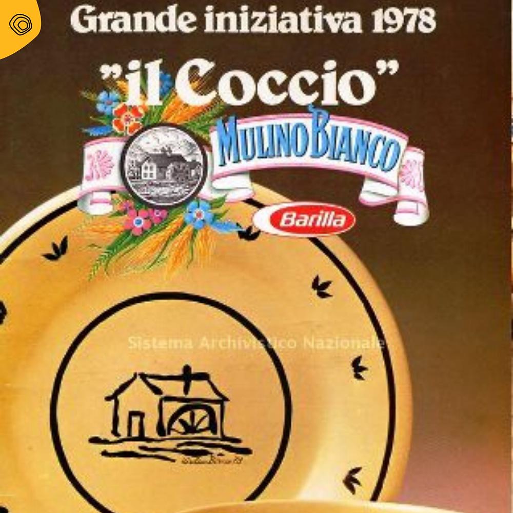 vintag vintage pubblicità mulino bianco il coccio 1978
