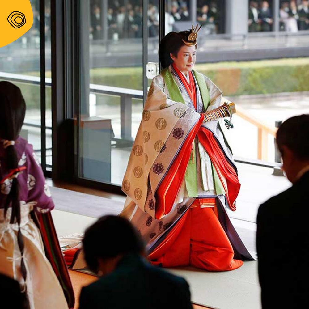 vintag vintage kimono principessa Masako