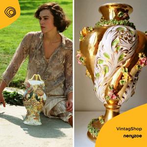 vintag vintage vaso ceramica anni 50 torchon