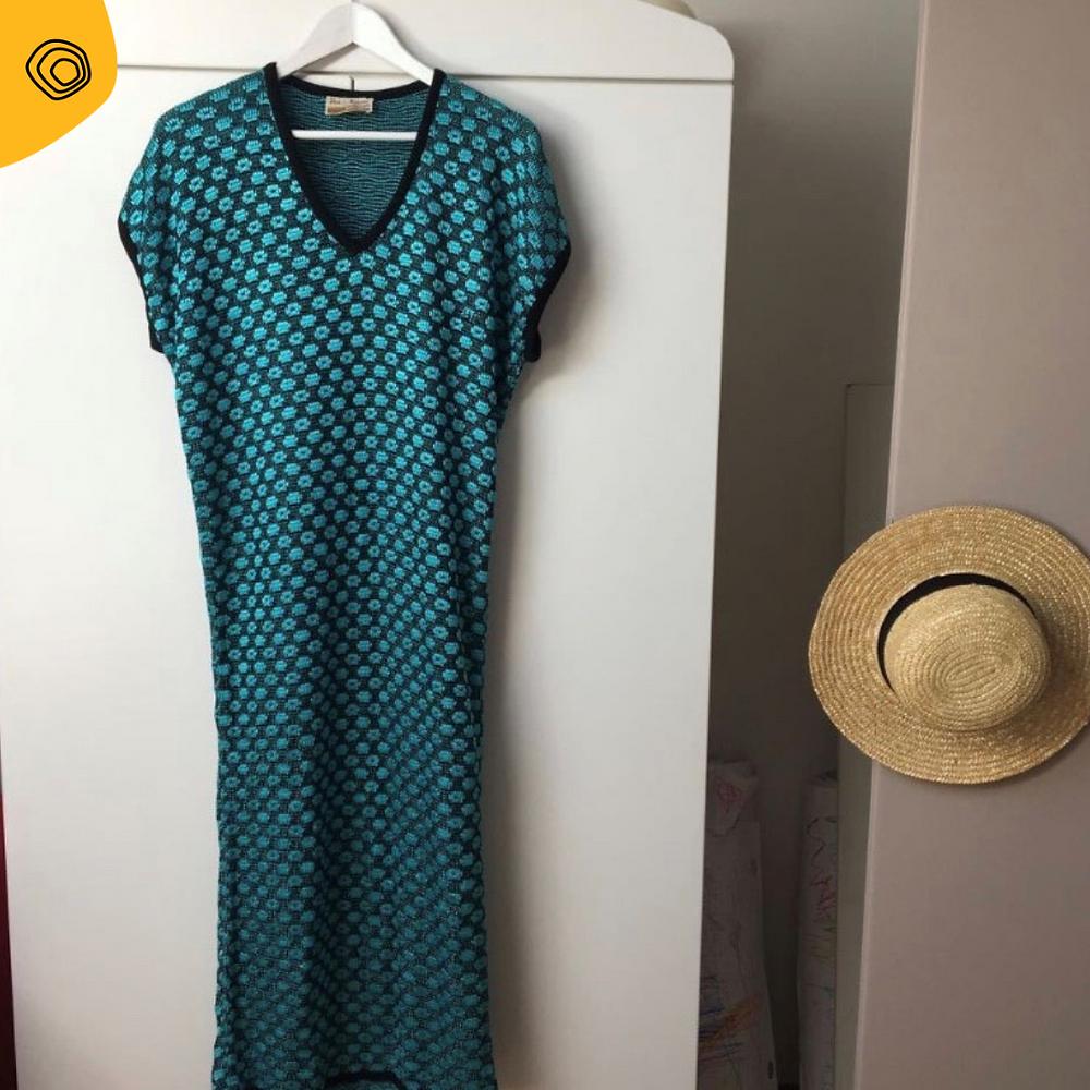 vintag vintage abito krizia anni 70