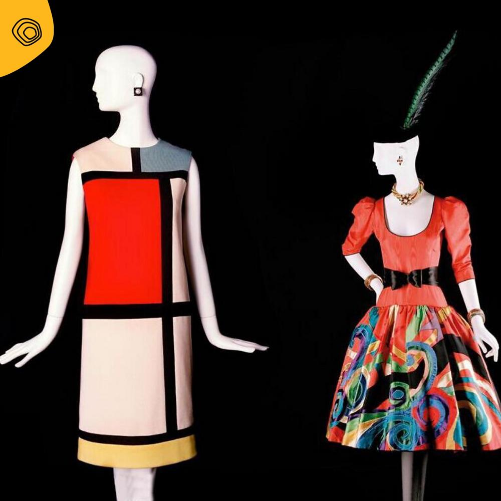vintag vintage yves saint laurent Mondrian