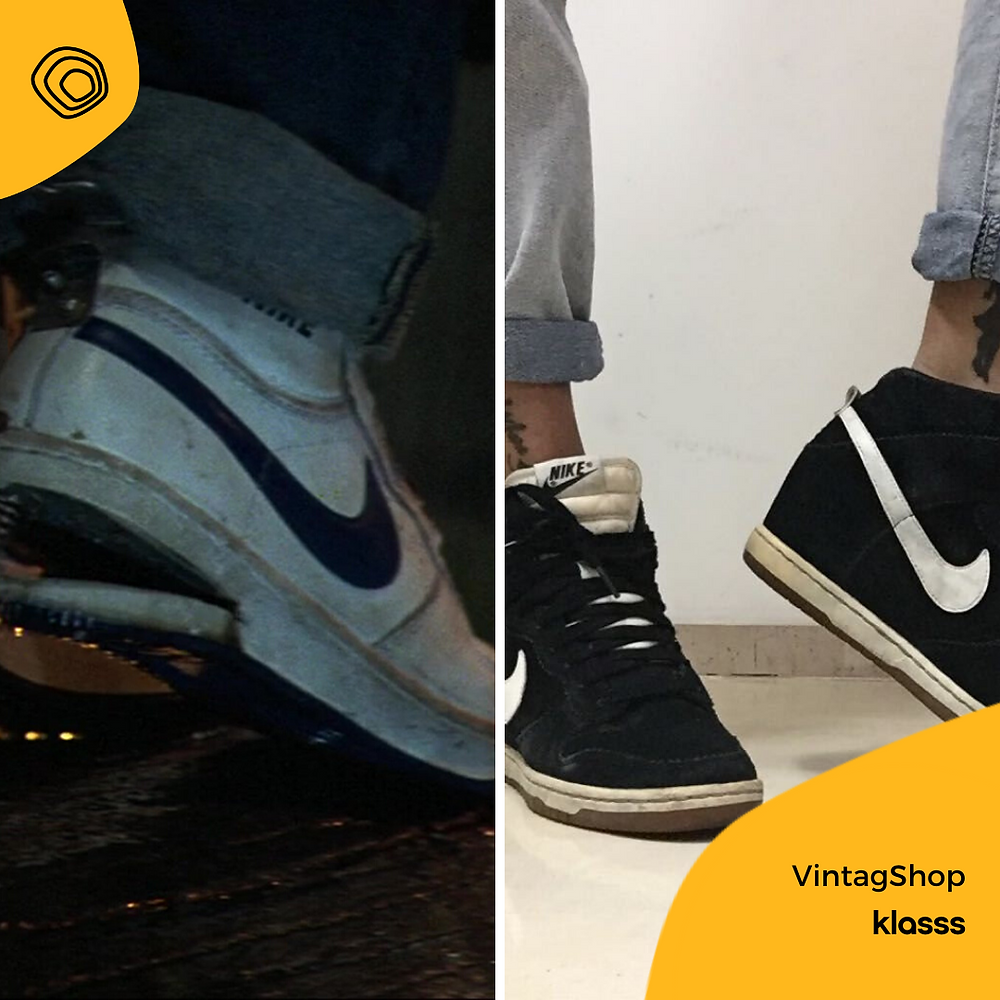 vintag vintage nike scarpe