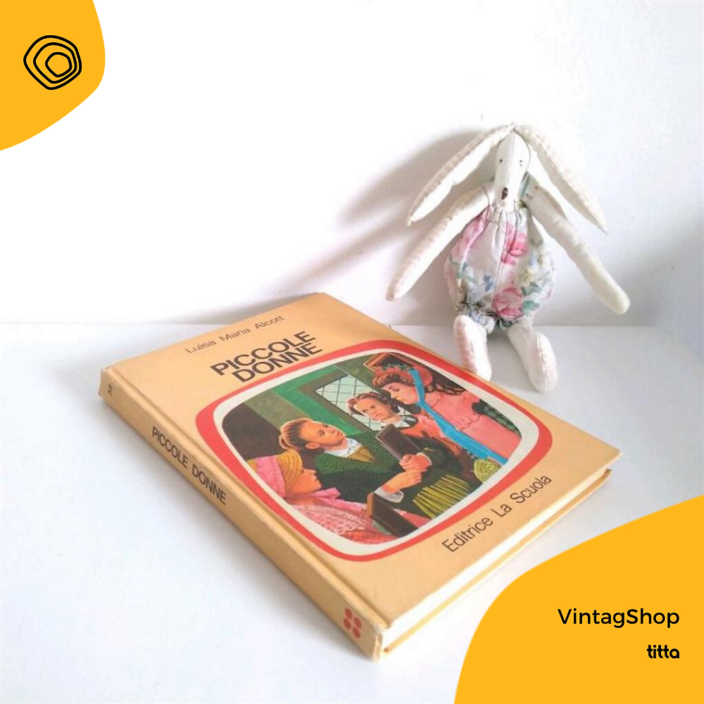 vintag vintage libro piccole donne Alcott