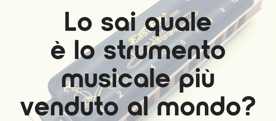 Lo sai quale è lo strumento musicale più venduto al mondo?