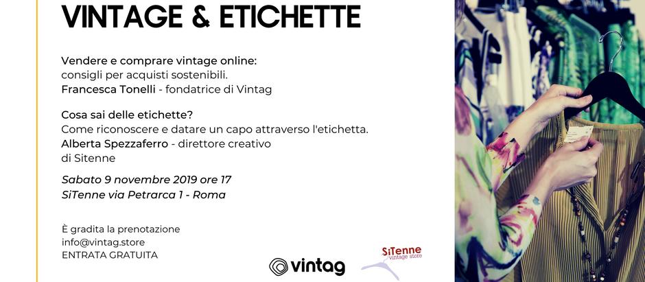 VINTAGE & ETICHETTE