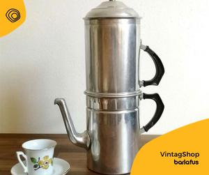 vintag vintage caffettiera napoletana cuccumella anni 50 anni 60 rex