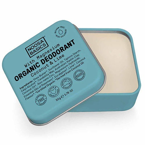 Noosa Basics Deodorant Paste - Coconut & Lime (50g)