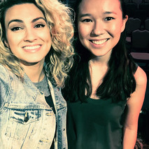 With the lovely Tori Kelly