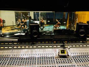 Recording strings at NRG studios