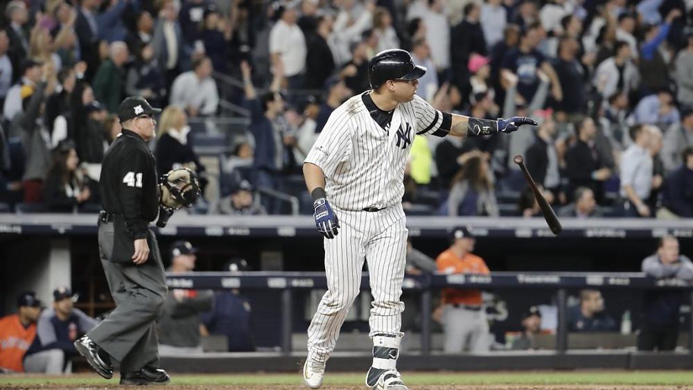 Gary Sánchez sacudió un jonrón en la 3ra victoria seguida de Yankees en casa